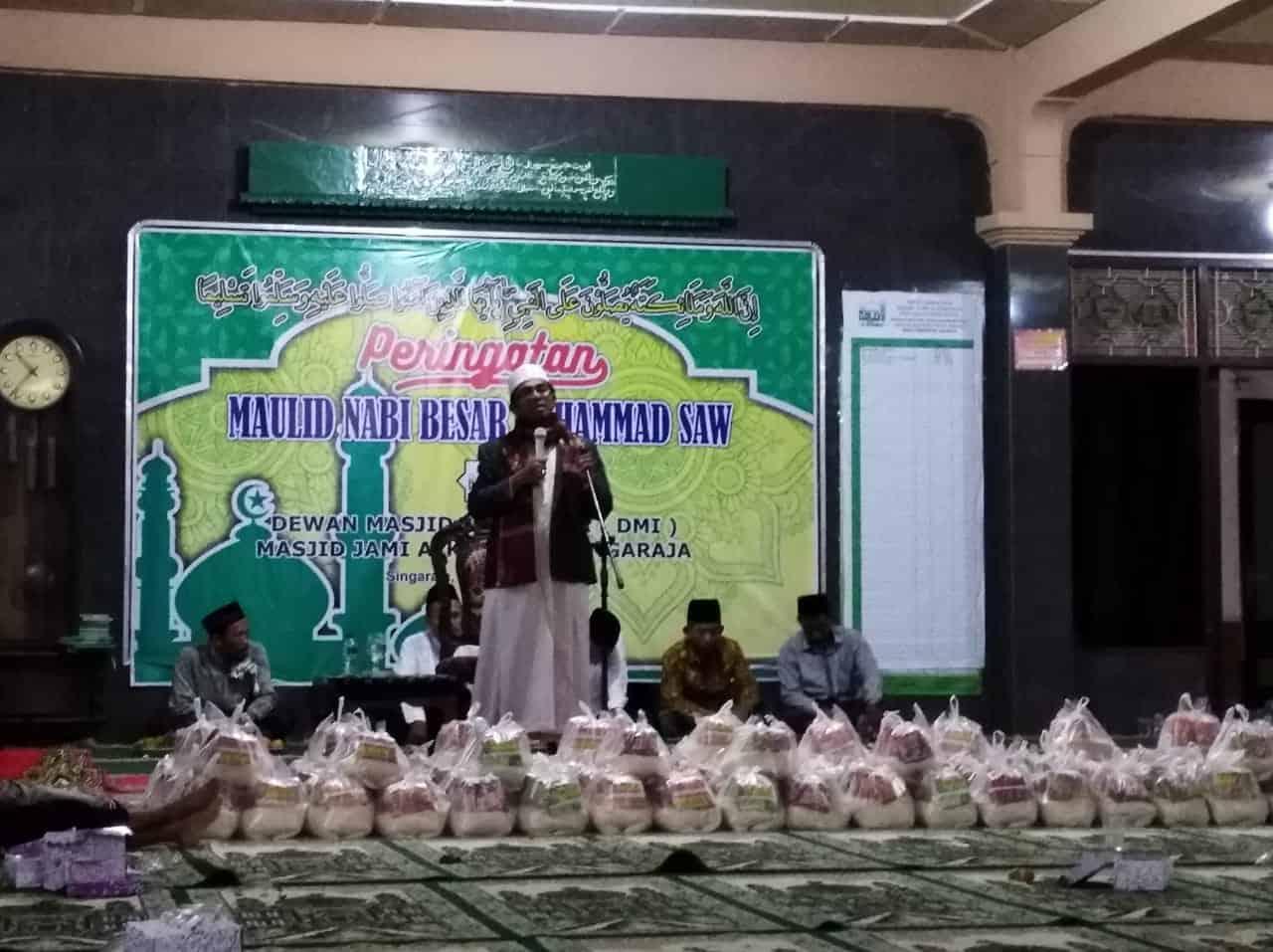 acara maulid nabi di MASJID JAMI AL-KAROMAT