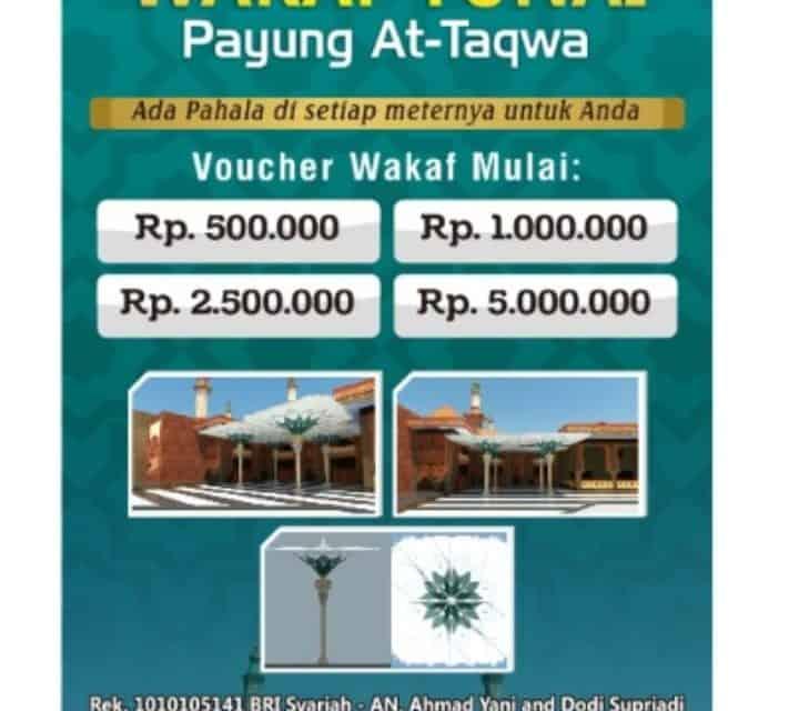 WAKAF TUNAI PAYUNG AT-TAQWA