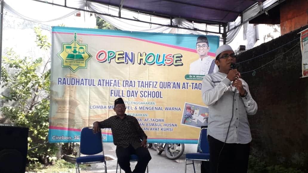 Open House RA Tahfidz At Taqwa