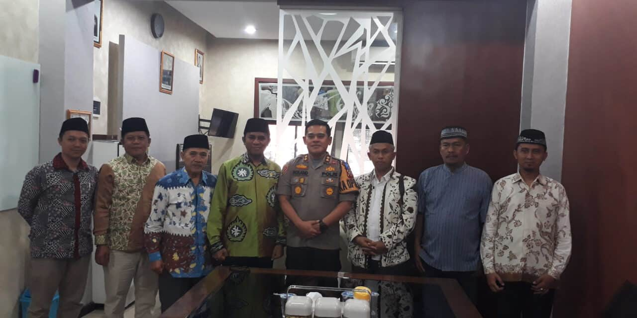 Sinergi Ulama dan Umaro, At-Taqwa dan Polres Kota Cirebon Komunikasi Efektif