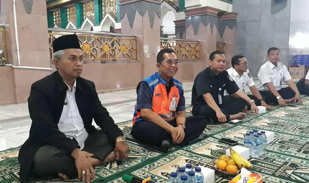 Pisah Sambut Kepala PT. KAI DAOP III Cirebon dengan Doa Bersama di At-Taqwa