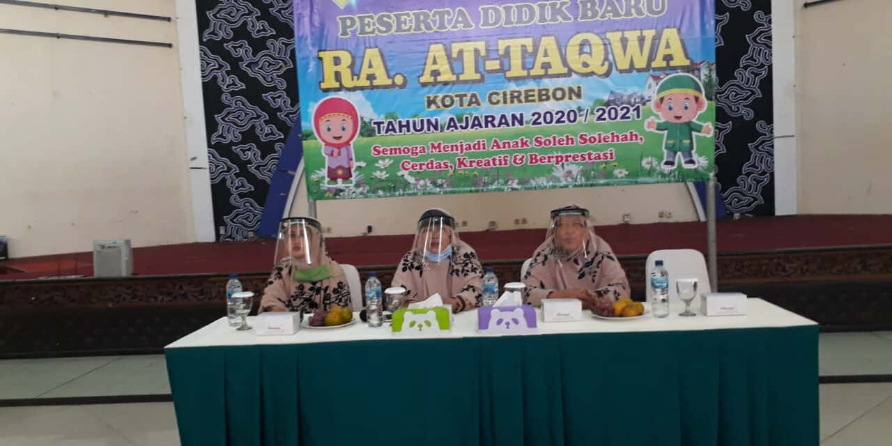New Normal, RA AT-TAQWA Gelar Penerimaan Peserta Didik Baru