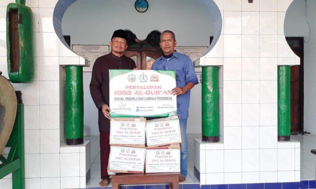 LAZISWA Tebar Al-Quran ke Jawa Tengah