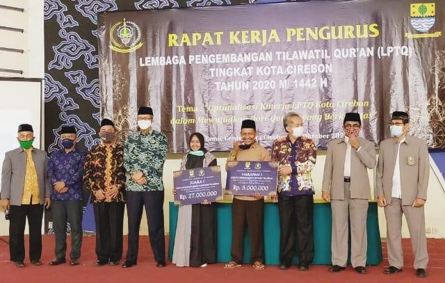 Rapat Kerja LPTQ Kota Cirebon Tahun 2020