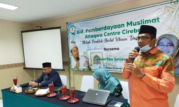Sambut Ramadhan 1442 H., Attaqwa Gelar Pelatihan Sholat Khusyu
