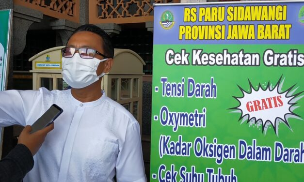At-taqwa Periksa Kesehatan Jamaah Secara Gratis Bersama RS Paru Jawa Barat