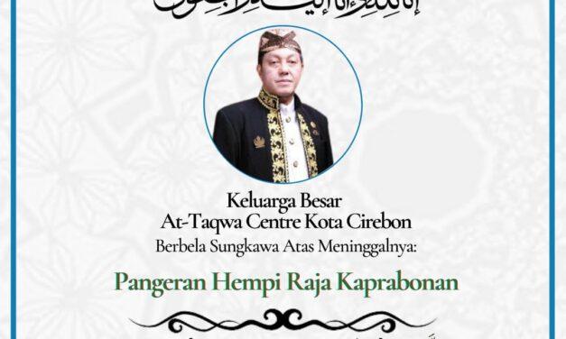 Pangeran Hempi Raja Kaprabonan Tutup Usia