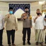 At-taqwa Gelar Vaksinasi Warga Masjid dan Masyarakat Bersama DMI dan Polres Cirebon Kota