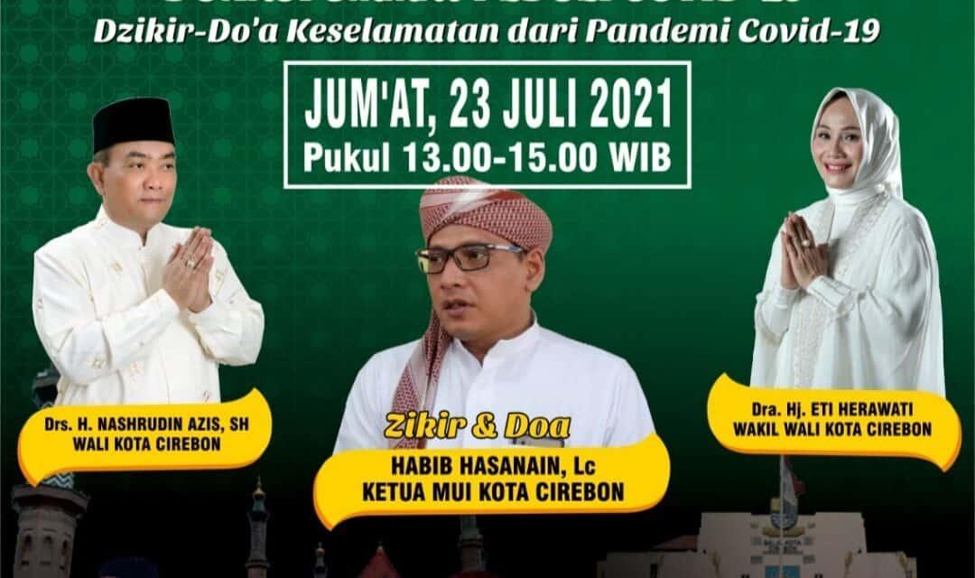 Cirebon Bermunajat Plus Donasi Peduli Ummat Terdampak Covid 19