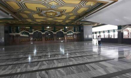 Masjid Raya At-Taqwa Sepi Selama PPKM, Pemeliharaan & Perawatan Masjid Tetap Maksimal