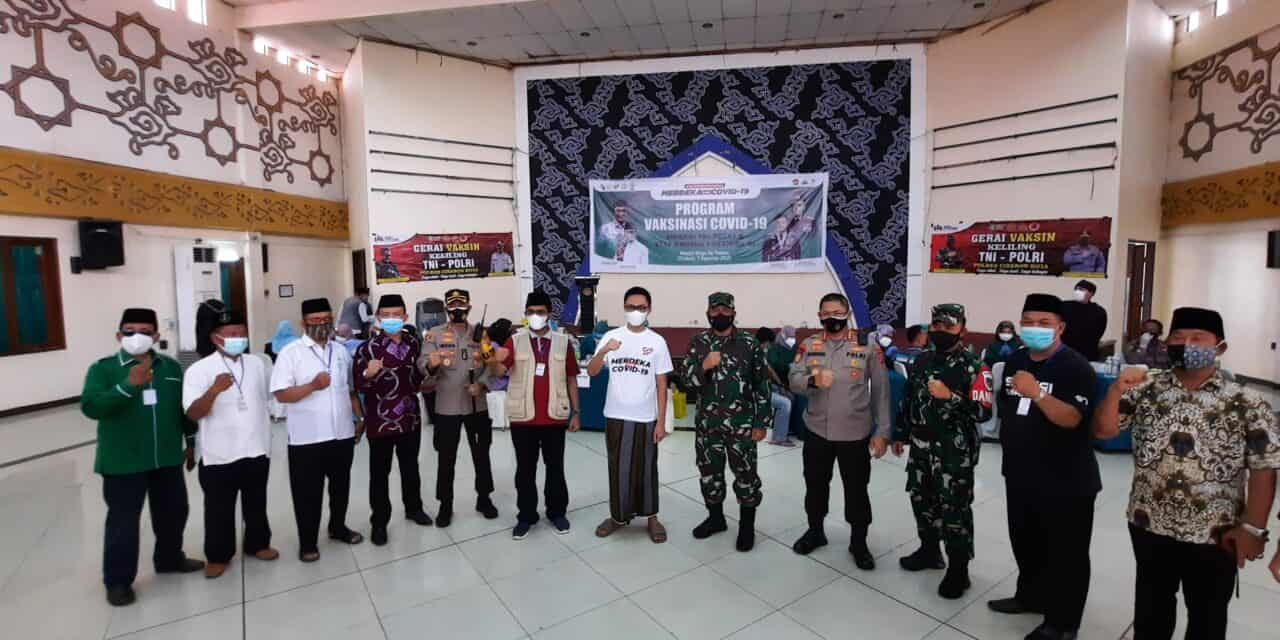 Masjid Raya Attaqwa: Pelopor Vaksinasi Untuk Marbot & DKM Masjid Se-Jawa Barat