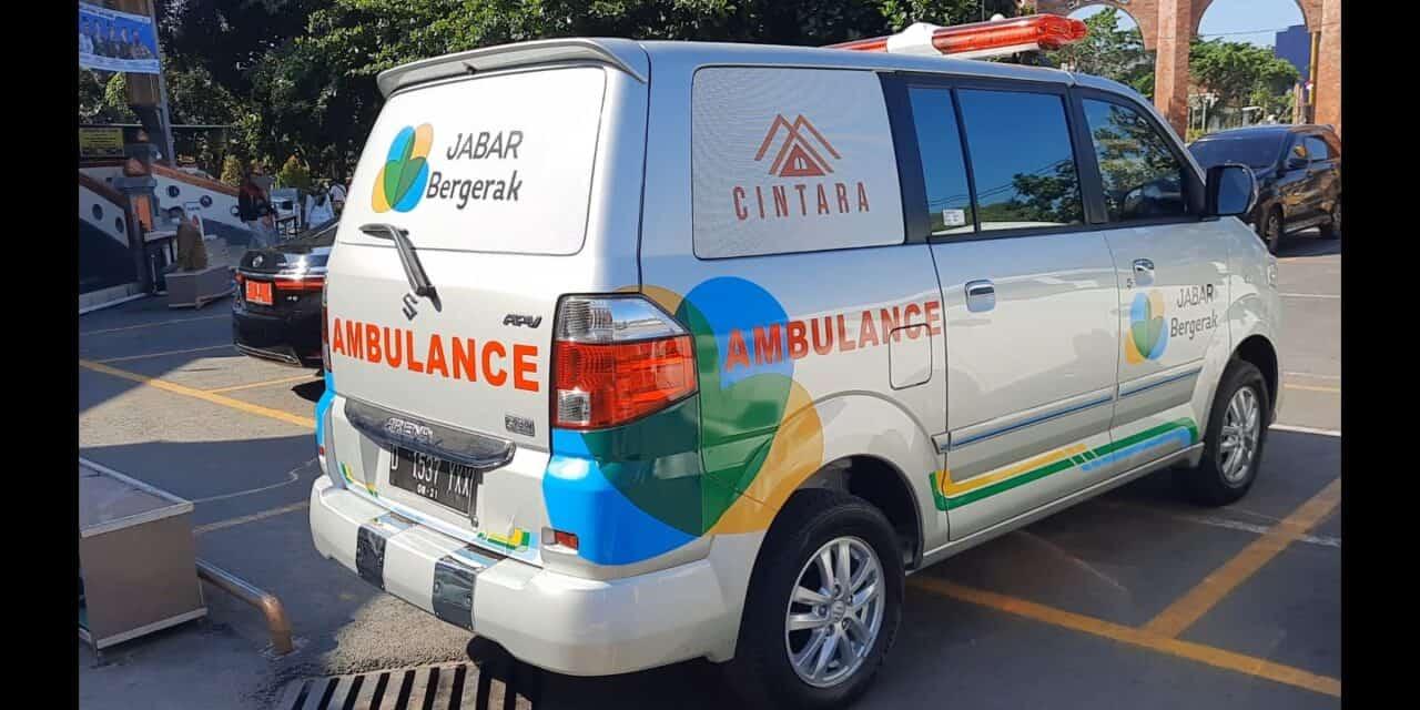 Menggapai Lebih Luas Attaqwa Centre & Jabar Bergerak Fasilitasi Ambulance Baru