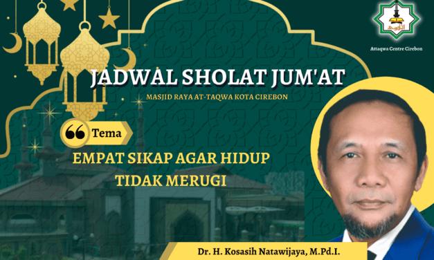 EMPAT SIKAP AGAR HIDUP TIDAK MERUGI  Oleh : H. Muchlis SK (Pengurus Masjid Raya At-Taqwa)