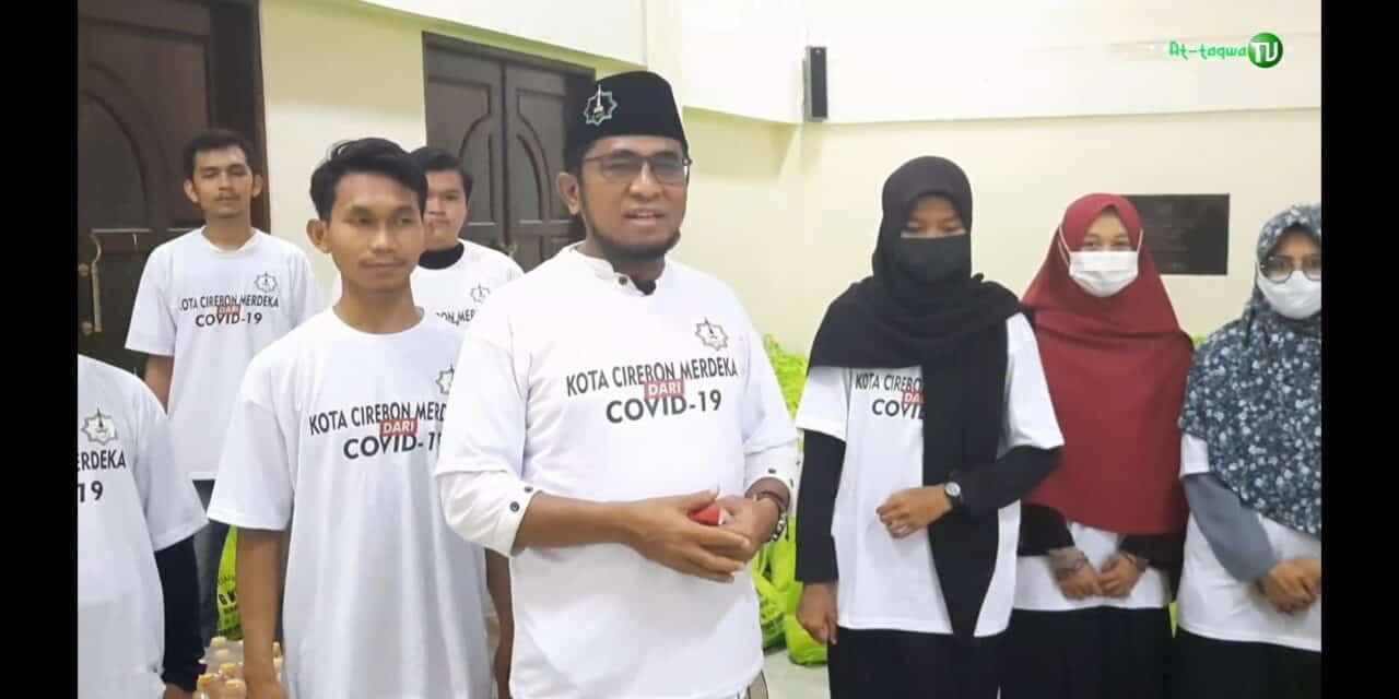 GKS Tebar 1000 Paket Sembako Lengkap ke Masjid-Masjid se-Kota Cirebon