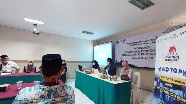 Solusi Perekonomian Ummat, Attaqwa Centre Cirebon Gelar Workshop Bagi Mahasiswa & Aktivis Masjid